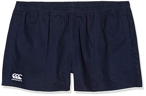 Canterbury Herren Professional Cotton Rugby Rugbyshorts, Navy, XL