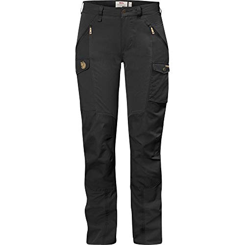 Fjällräven Damen Nikka Curved Regular Hose, Schwarz (Black), 38