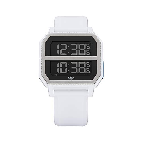 adidas Reloj Digital para Unisex Adulto de con Correa en Silicona Z16-3273-00