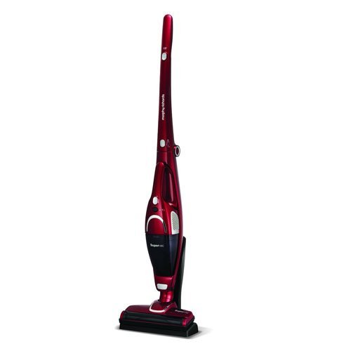 Morphy Richards 732005 Cordless Vacuum Cleaner 35 Mins Runtime, Plastic, 100 W, Red
