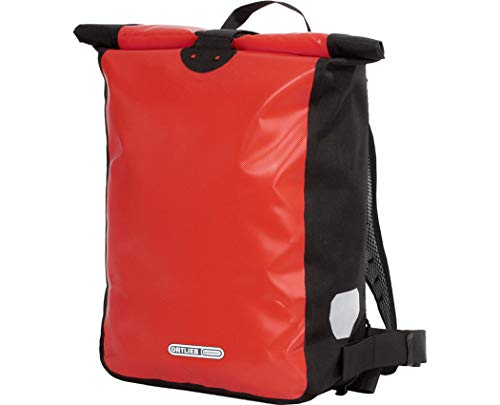 Ortlieb Unisex– Erwachsene Messenger-Bag Fahrrad-Rucksack, Rot, One Size