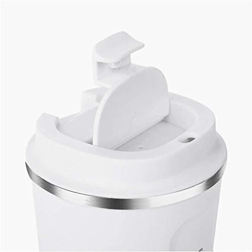 タンブラー ふた付き ダイレクトタイプ 真空断熱 直接ドリップ (ホワイト, 510ML)