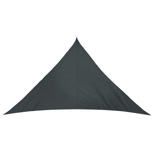 jarolift Sonnensegel Dreieck wasserabweisend, 510 x 360 x 360 cm, anthrazit
