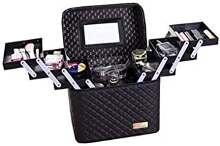Makeup Bag Travelling Toiletry Bag Cosmetics bag Makeup Organizer Cosmetics Organizer with Multiple layers for Travelling ...