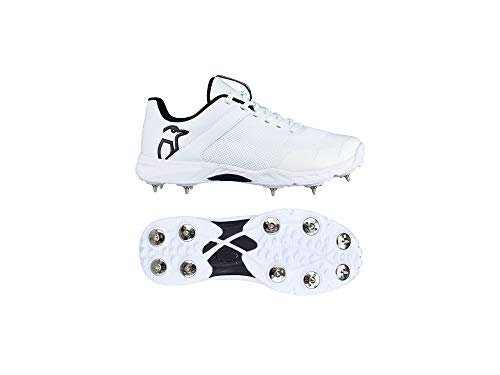Kookaburra KC 3.0 Cricket Spikes - 10 - White