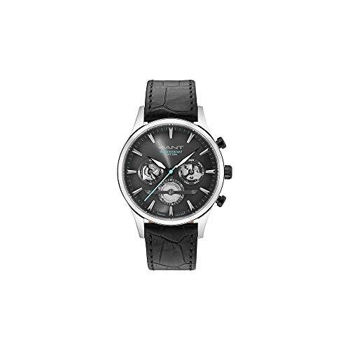 Gant Reloj Analógico para Hombre de Cuarzo con Correa en Cuero 7630043916810