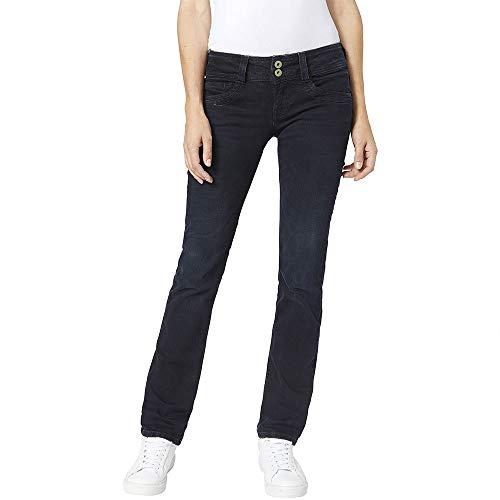 Pepe Jeans Gen Vaqueros, Denim WQ0, 33W / 34L para Mujer