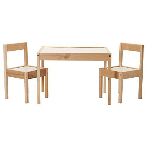 Ikea Latt Tisch und 2 Stühle für Kinder