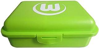 VfL Wolfsburg Brotdose Bio mit Logo