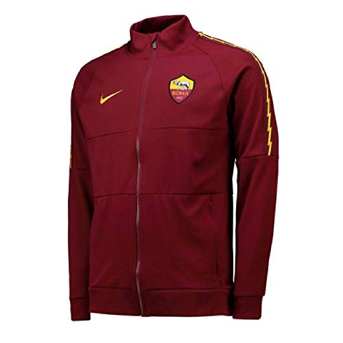 Nike Roma Y Nk I96 Jkt, Giacca Unisex Bambini, Rosso/Oro (Team Red/Team Red/University Gold), M