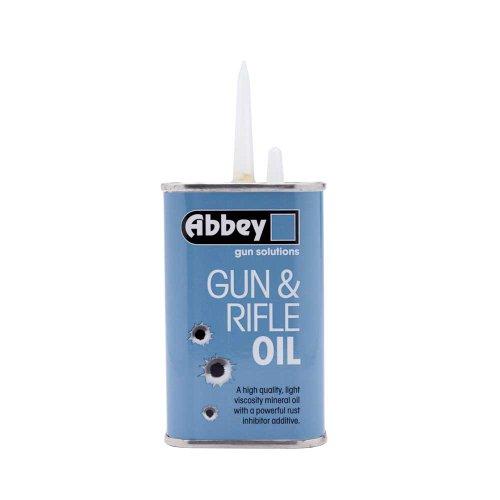 ABBEY Gun & Rifle Oil Long Spout Tin 125ml