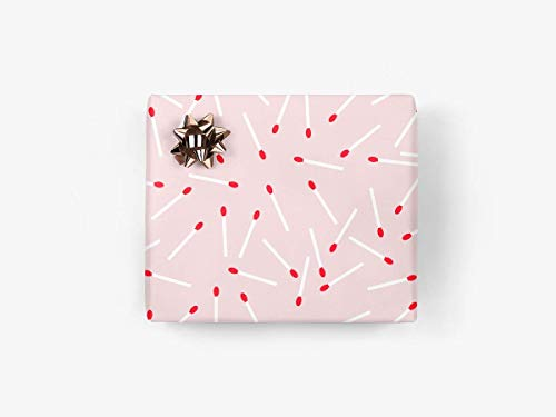 5 Bögen Geschenkpapier - Light Up No. 2 - von typealive - retro Geschenkbögen für verschiedene Anlässe im Format 50x70 cm