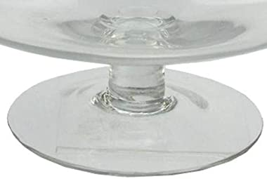 Northlight Seasonal 15 in. Rotund Transparent Glass Jar with Finial Topped Lid