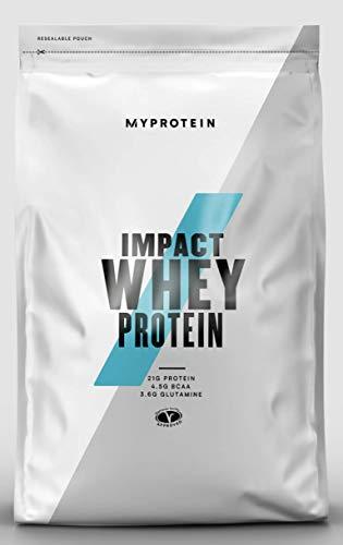 MyProtein Impact Whey Proteína de Suero, Sabor Stevia Vainilla - 1000 gr