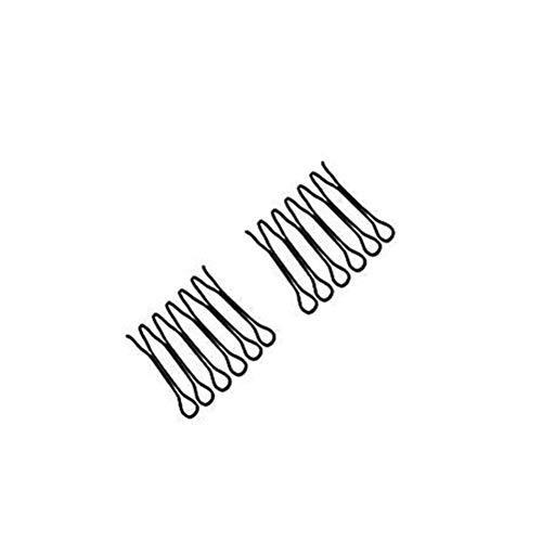 Dan&Dre u-formad hårfixare, kam hårnålar mini lugg hållare styling verktyg kvinnor och flickor frisyr hårtillbehör