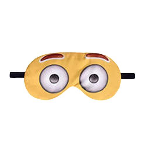3D Druck Lange Wimpern Reise Rest Eyeshade Schlafaugenmaske Abdeckung Nettes Mädchen Augenklappe Augenbinden Brille Gesundheitswesen Emoji