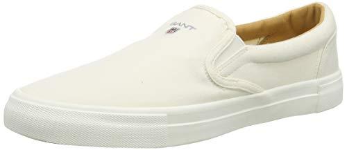 GANT Footwear Herren SUNDALE Slipper, Weiß (Off White G20), 40 EU
