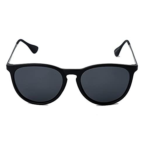 AMFG Gafas De Sol Polarizadas De La Tendencia De Moda Retro All-Match Color Color Gafas (Color : C)
