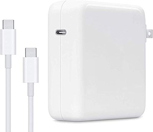 Mac Book Pro Charger, 96W Replacement USB C Charger Power Compatible with MacBook Pro Charger USB C 16/15 Inch, Thunderbolt Ports Laptop Ac Charger Power Supply Type C Cord.