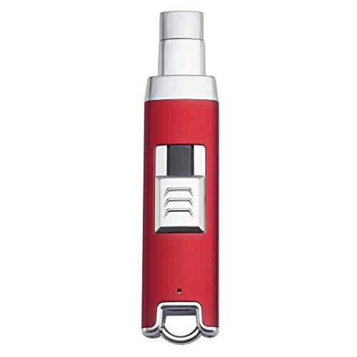 DAUJAM Encendedor Eléctrico, ARC Encendedor USB Recargable, encendedores electricos Plasma Largo, Seguridad...