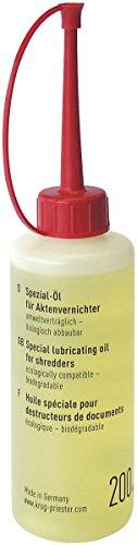 Ideal Spezialöl für Aktenvernichter 200 ml, 10-er Pack