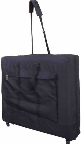Therapist's Choice® Wheeled Massage Table Carry Case,Bag for Massage Table,Black