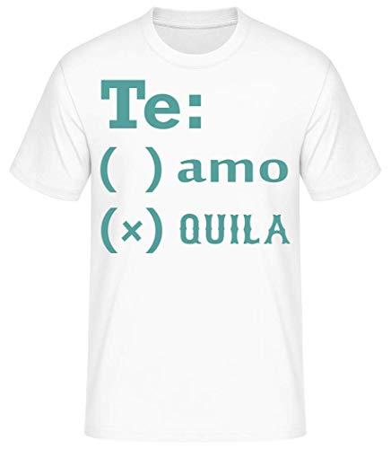 Shirtinator Party Festival T-shirt | Te Amo Tequila grappig cadeau-idee voor mannen | grappig heren T-shirt origineel