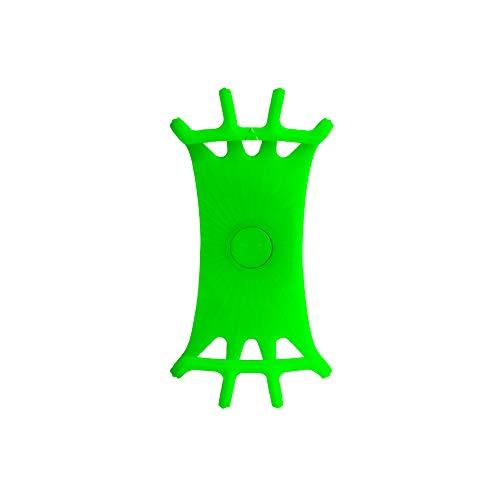 Supporto per telefono per bicicletta, creativo, adatto per tutti i tipi di smartphone moto, supporto per cellulare per mountain bike, accessori per bicicletta (verde)