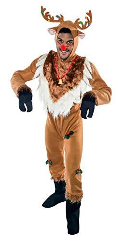 disfraz de reno navideño M-L