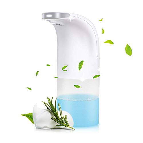 Automatic Foaming Soap Dispenser,Touchless Liquid 350ml Smart Soap Dispenser Refillable Liquid Soap...