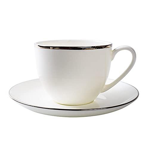 SXXYTCWL Taza de café de la taza de la taza de la taza de la taza de la taza de consumición de la taza de té rojo de la tarde de la tarde Latte Espresso Latte Cup Hot Cocoa Juice taza conveniente para
