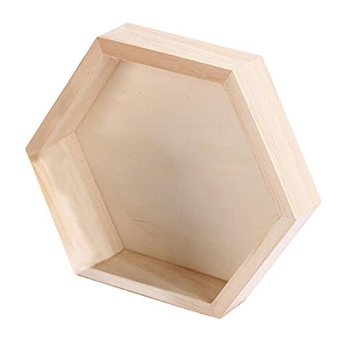MNSYD Schmuck Ohrringe Aufbewahrungsbox Stilvolle einfache Morden Uhr Display Schublade Gehäuse Organizer Uhr Vitrine,Holzfarbe groß