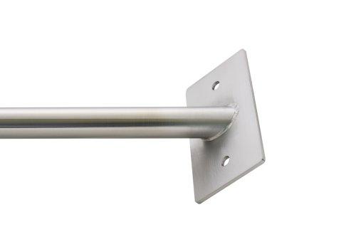 Klimmzugstange / Reckstange E1 aus Edelstahl für eine 90° Ecke