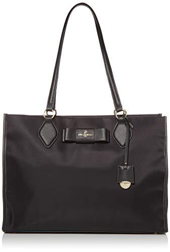 KARL LAGERFELD Paris Damen PENNY BOW TOTE Tragetasche, schwarz/schwarz, Einheitsgröße