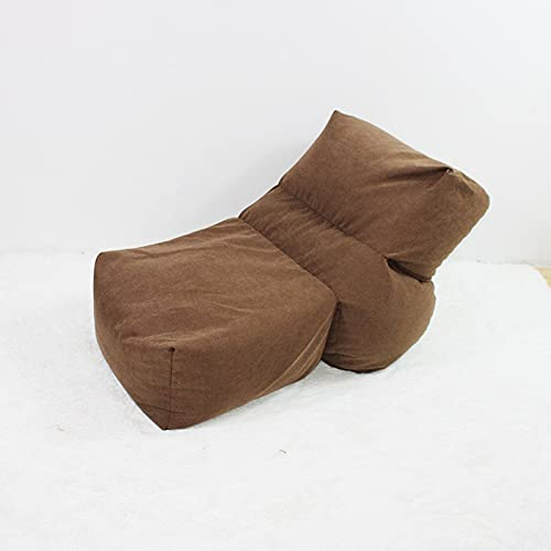 Große Gamer Sitzsäcke für Erwachsene (ohne Füllung) Stuhl Sofabezug High Back Recliner Gaming Sitzsack mit Garden Lazy Lounger Sitz