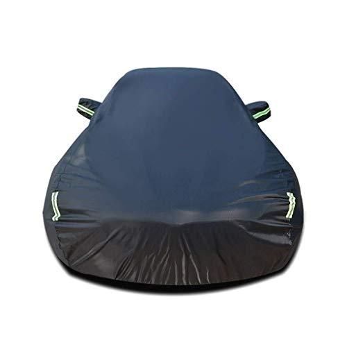 Alle weersomstandigheden Waterdichte Auto Cover Auto Cover Compatibel met Toyota Yari Auto Cover Waterdicht Ademend Dik Zon Bescherming Regenzeildoek (Kleur : Zwart, Maat : 5-Door) Ademende Zonnescherm Wat