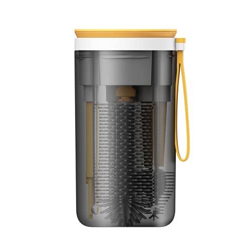 Kit de nettoyage et de séchage pour biberons sans BPA pour bébé - Convient pour la famille et les voyages