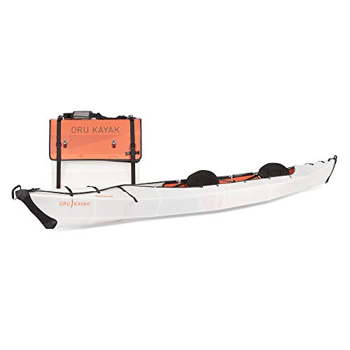 Oru Kayak Foldable Kayak - Stable, Durable, Lightweight Folding Kayaks for Adults and Youth - Lake, River, and Ocean Kayaks - Perfect Outdoor Fun Boat for Fishing, Travel, and Adventure (Haven TT)