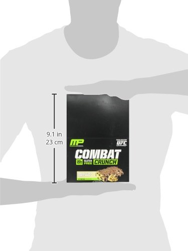 Muscle Pharm Combat Crunch Supplement, 12 count - 31b2qduYmdL