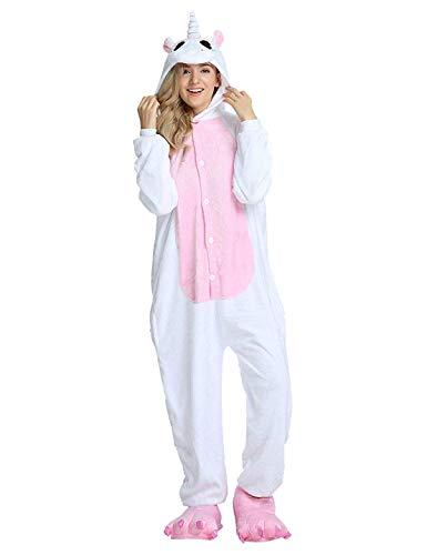 Pijama Animales Disfraz Cosplay Carnaval Halloween Costumes Unisex Mono Pijama Entero Unicornio Panda Pingüino