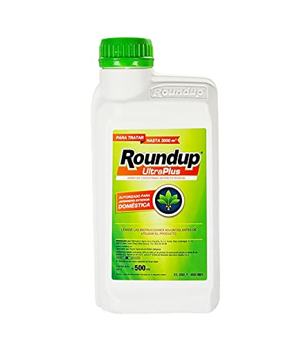 Roundup Ultra Plus 500 ml concentrate herbicide with no residual effect to...