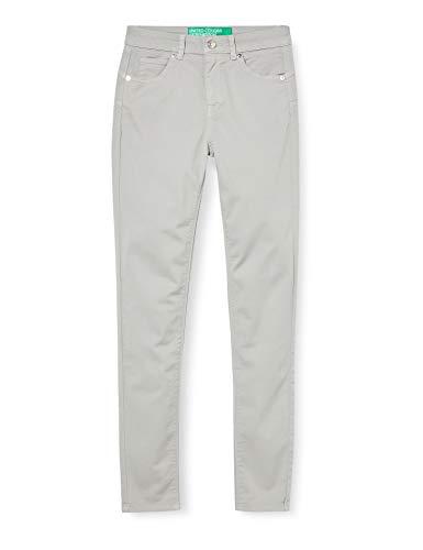 United Colors of Benetton Damen Pantalone Hose, Grau (Grigio Chiaro 82p), 32 (Herstellergröße: 38)