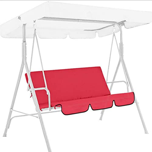 SFNTION Garden Metal Swing Hammock 3 Seater Chair Cushioned Bench Furniture Lounger Shelter Canopy Patio Replacement Canopy for Garden Swing Chair,150 * 50 * 10cm