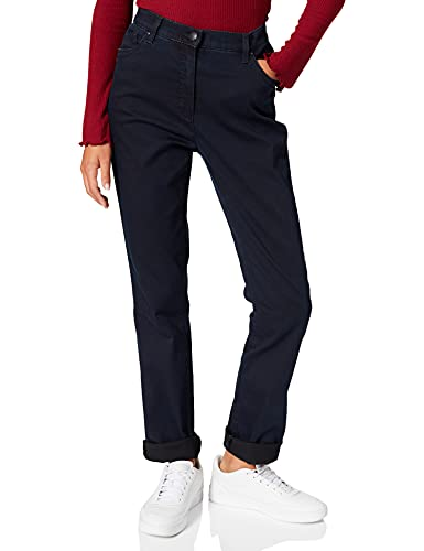 Raphaela by Brax Damen Style Ina Fay Super Dynamic Jeans, Dark, 42 EU