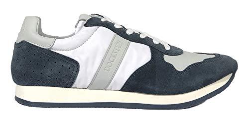 Docksteps Herren Sneaker Casual Guam Low 1354 Wildleder Blue Weiß DSR102522, Blau - blau - Größe: 43 EU