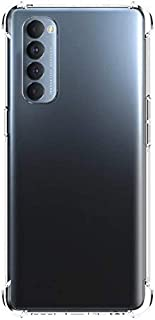 Reno4 Pro Case Cover Protective Shock Absorption Bumper soft Transparent Case For Reno 4 Pro