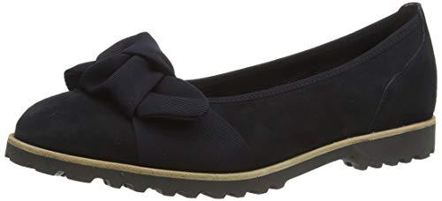 Gabor Shoes Damen Casual Geschlossene Ballerinas, Blau (Pazifik/Ocean(Cogn 16), 38 EU