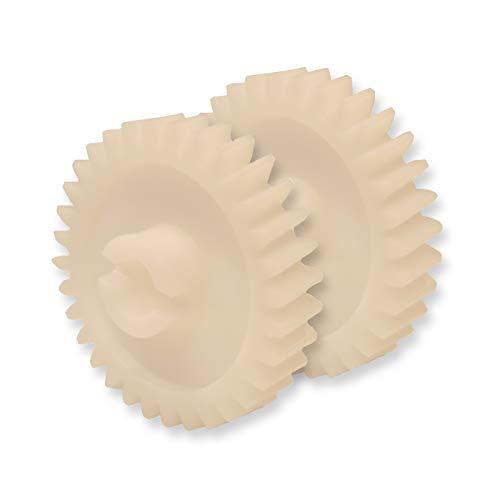 (2) Garage Door Opener Drive Gears Compatible w/Craftsman Chamberlain 81B0045 by The ROP Shop