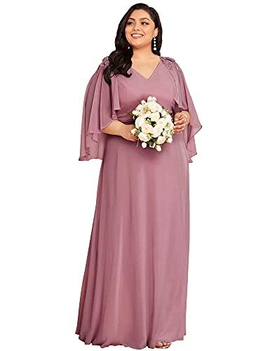 Ever-Pretty Vestido de Fiesta de Madre de la Novia Largo para Mujer...