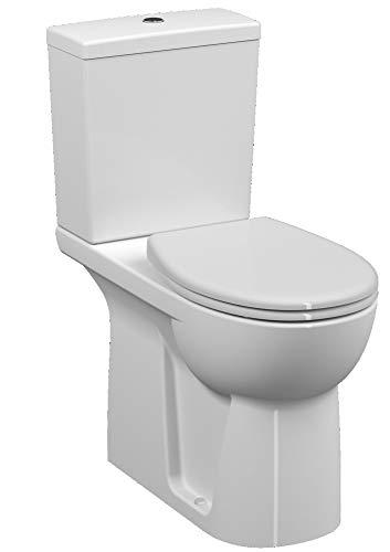 Pack WC surélevé Conforma Vitra - Blanc - 35.5x65x86.5cm